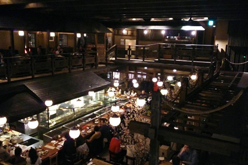 gonpachi restaurant roppongi