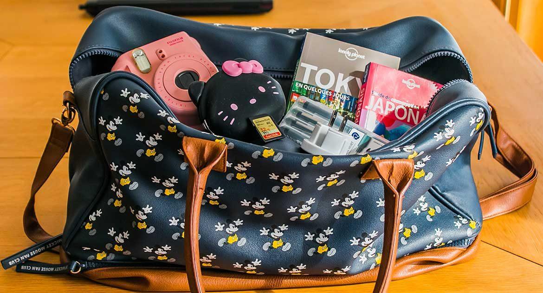sac voyage au japon