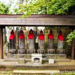 statues gotokuji