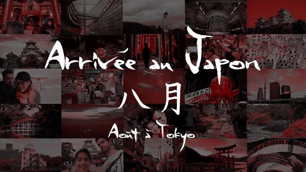premiers jours au Japon