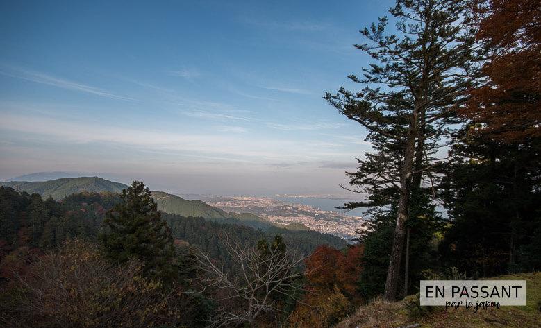 otsu vue lac biwa enryakuji