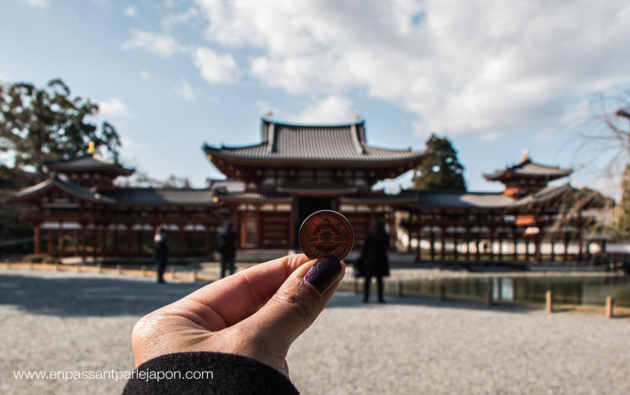 byodoin pièce de 10 yens