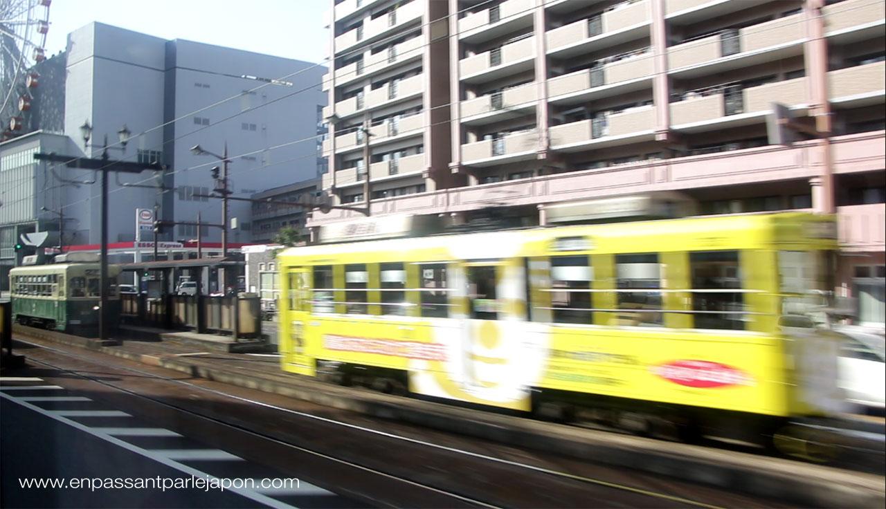 trams nagasaki
