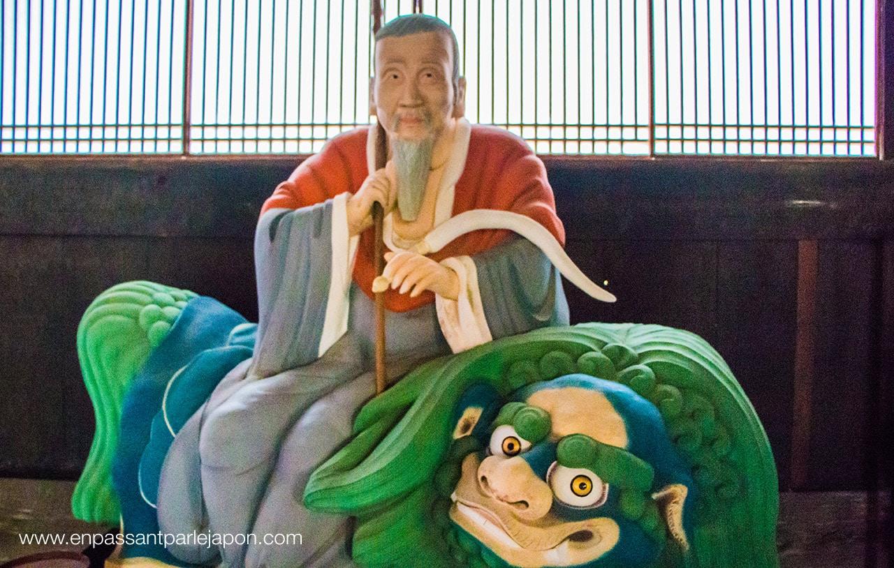 manpuku-ji-statue chinoise
