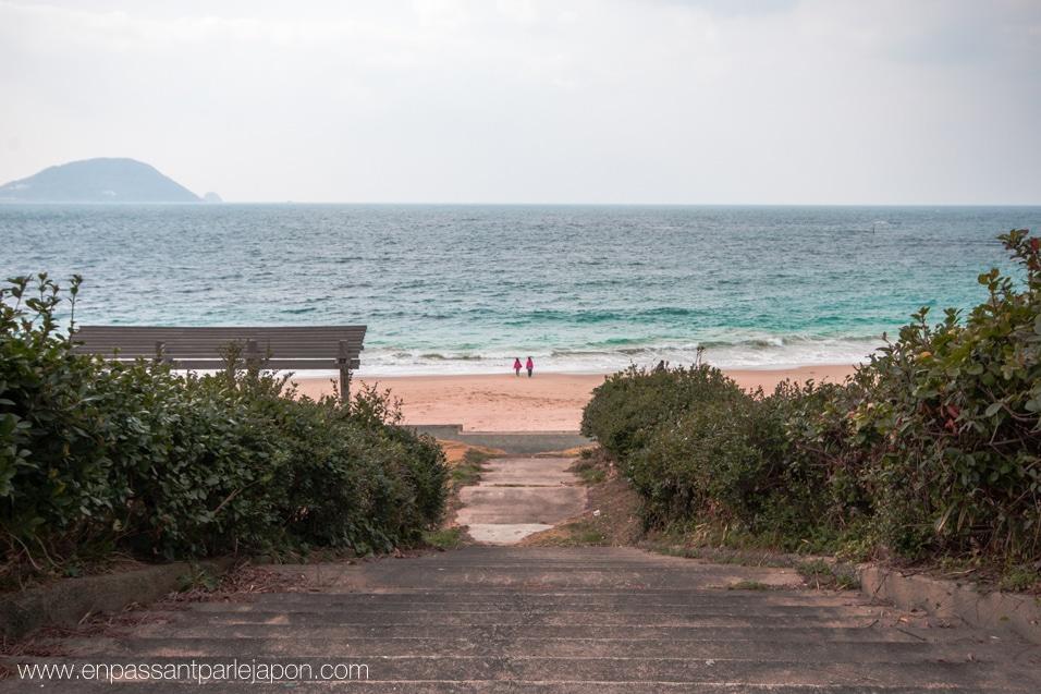 shikanoshima-plage