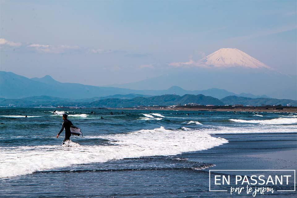 enoshima mont fuji