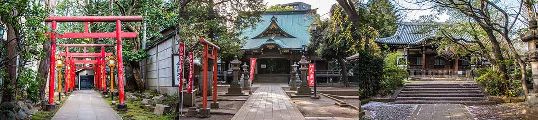 temples de zoshigaya tokyo