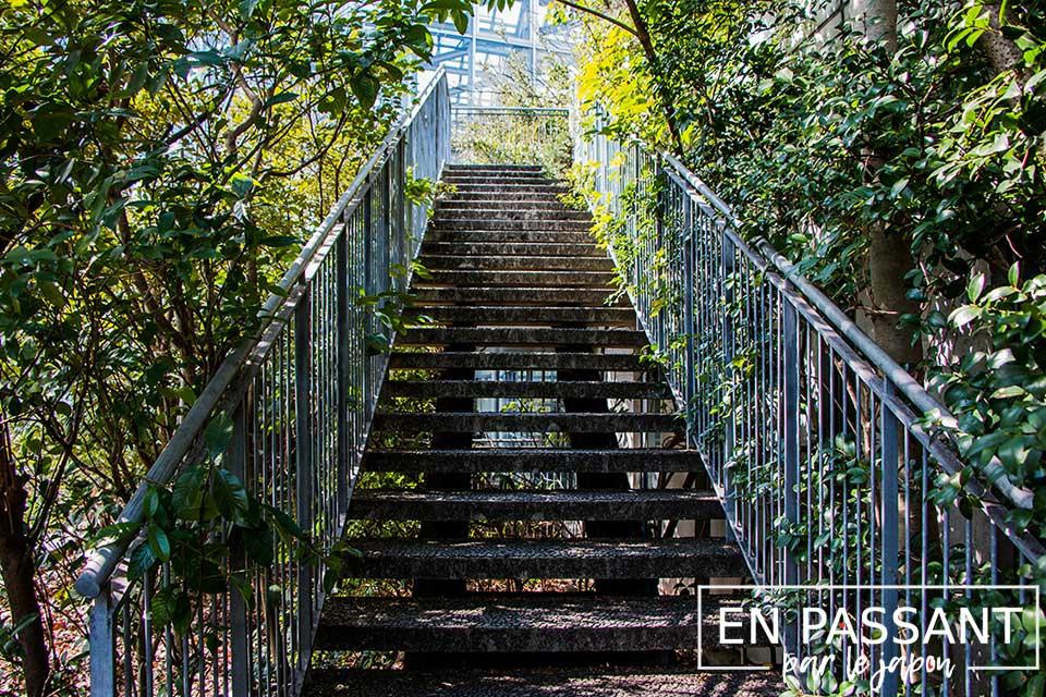 escaliers acros building fukuoka
