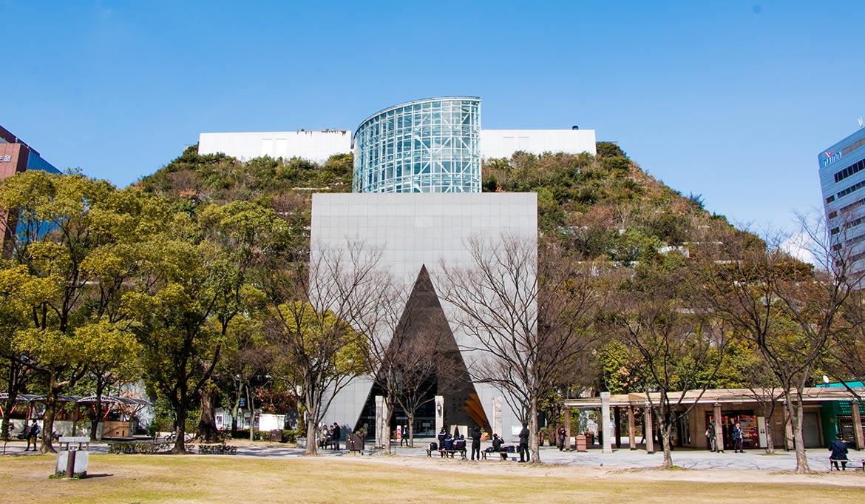 acros building observatoire à fukuoka