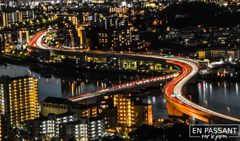 fukuoka tower autoroute pose longue
