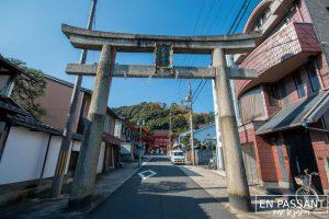 torii sanctuaire Nagara