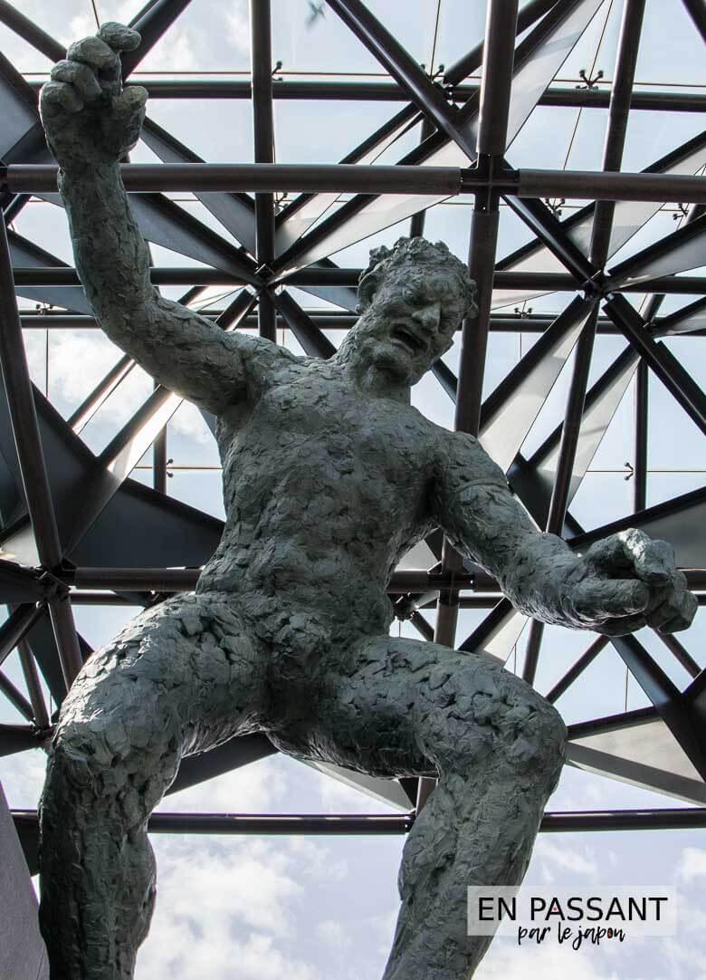 statue isshinji