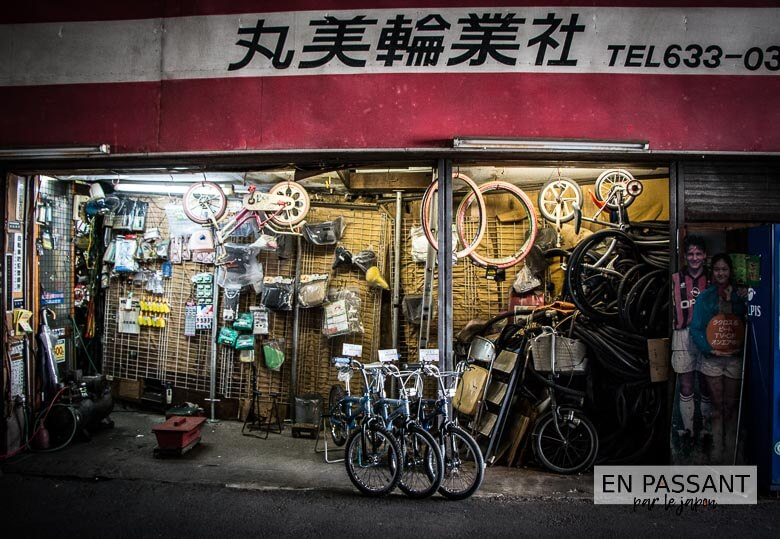 shin imamiya garage à vélo