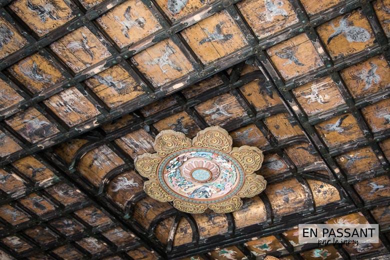 plafond butsuden kenchoji