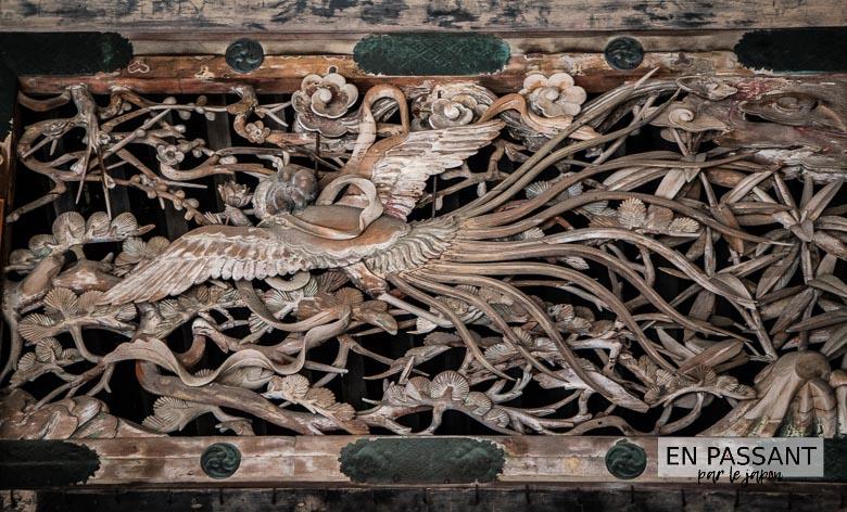 bois sculpté kenchoji