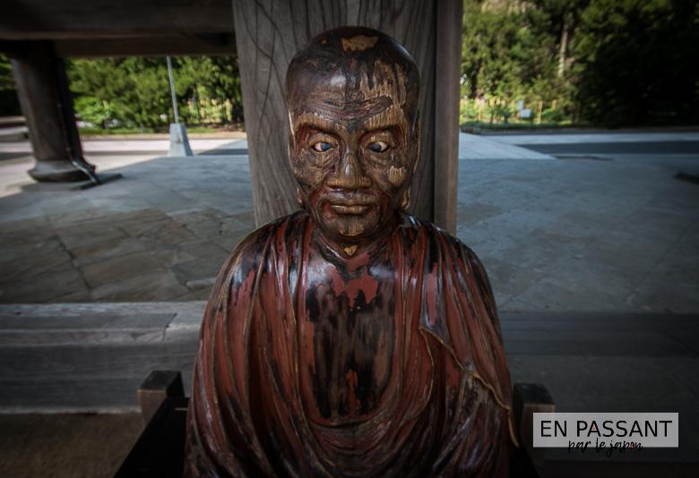 kenchoji statue porte