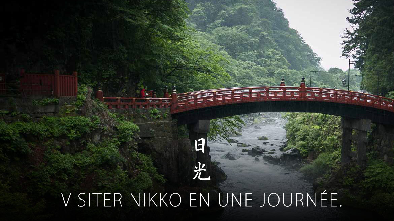 visiter nikko en une journée