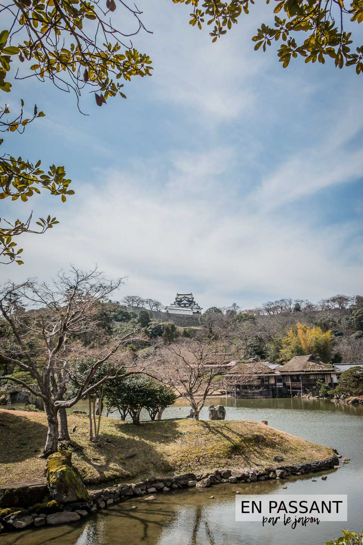 Genkyu-en chateau Hikone