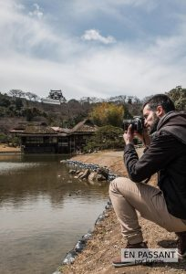 Hikone Genkyu-en enpassantparlejapon