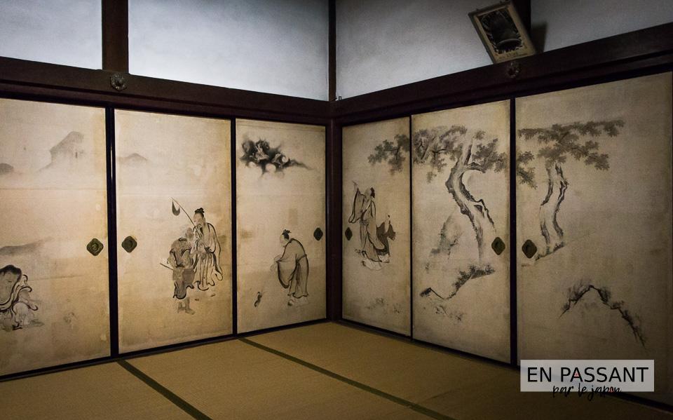 Ryotanji peinture Kyoroku Morikawa