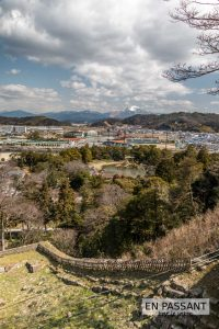 Vue Hikone chateau