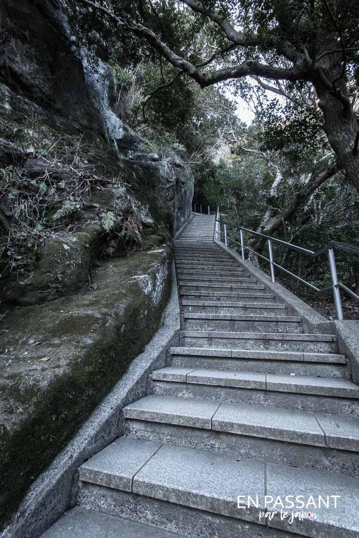 Nokogiriyama step