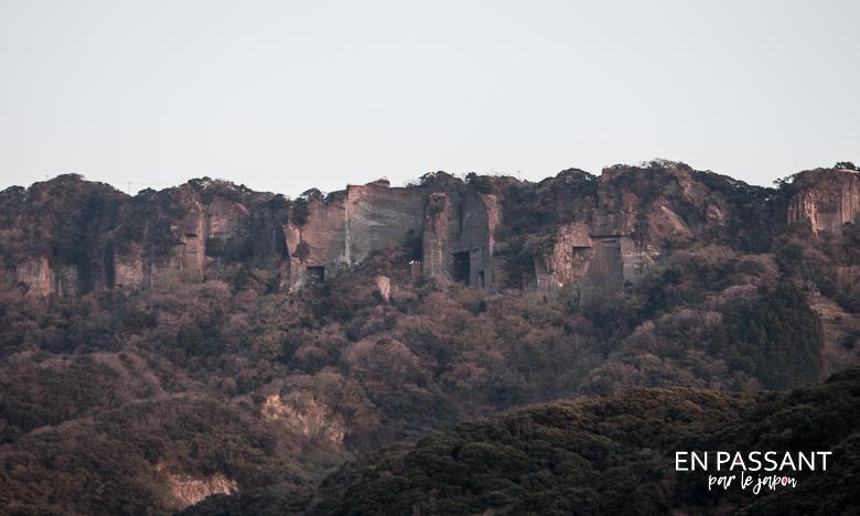 Stone quarry ruins