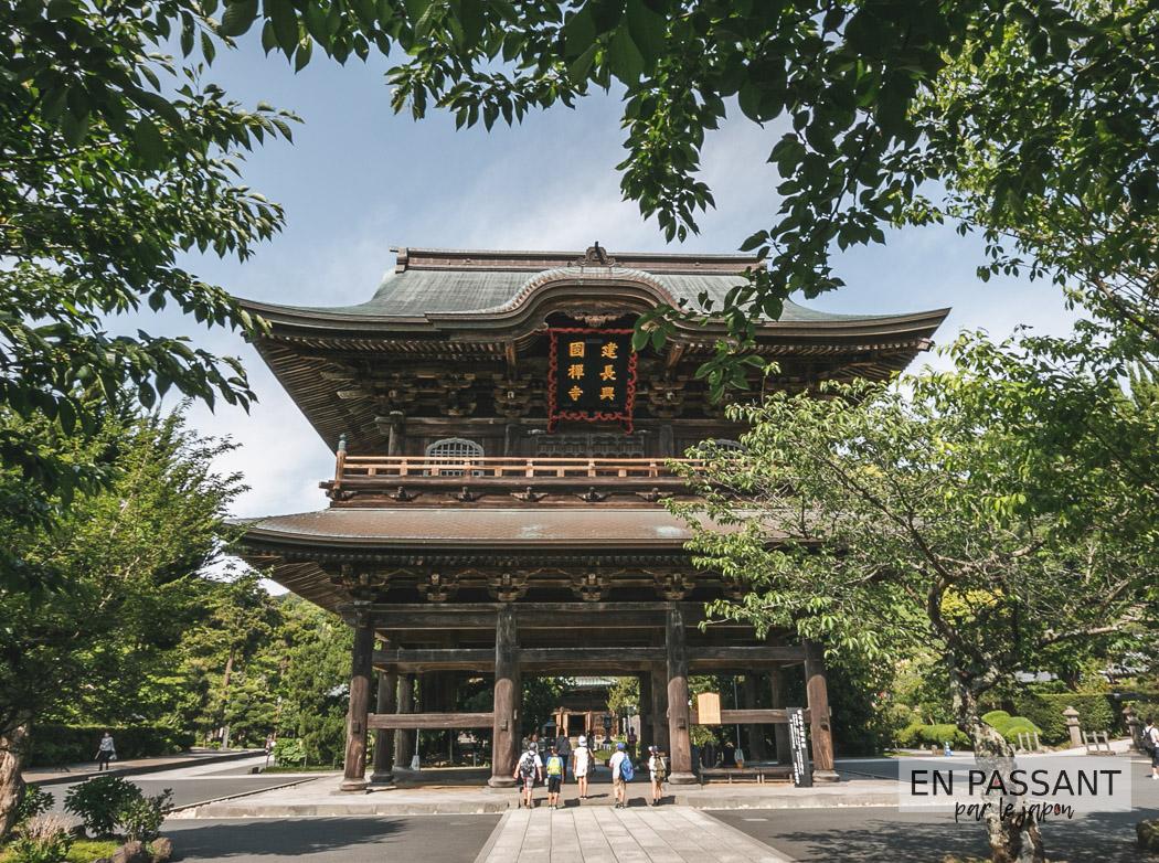 visiter Kamakura : le kencho-ji
