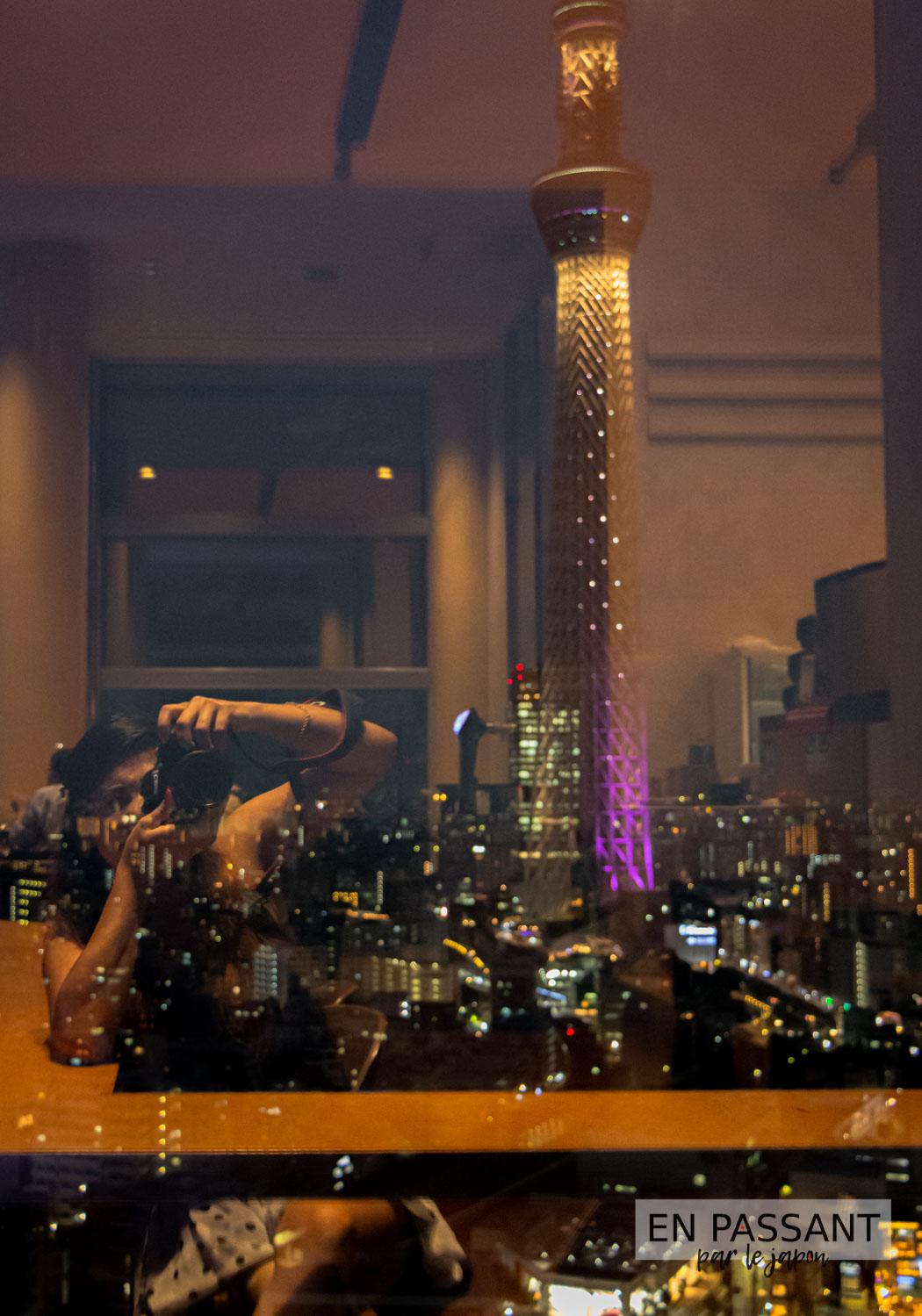 Vue sur la tokyo sky tree