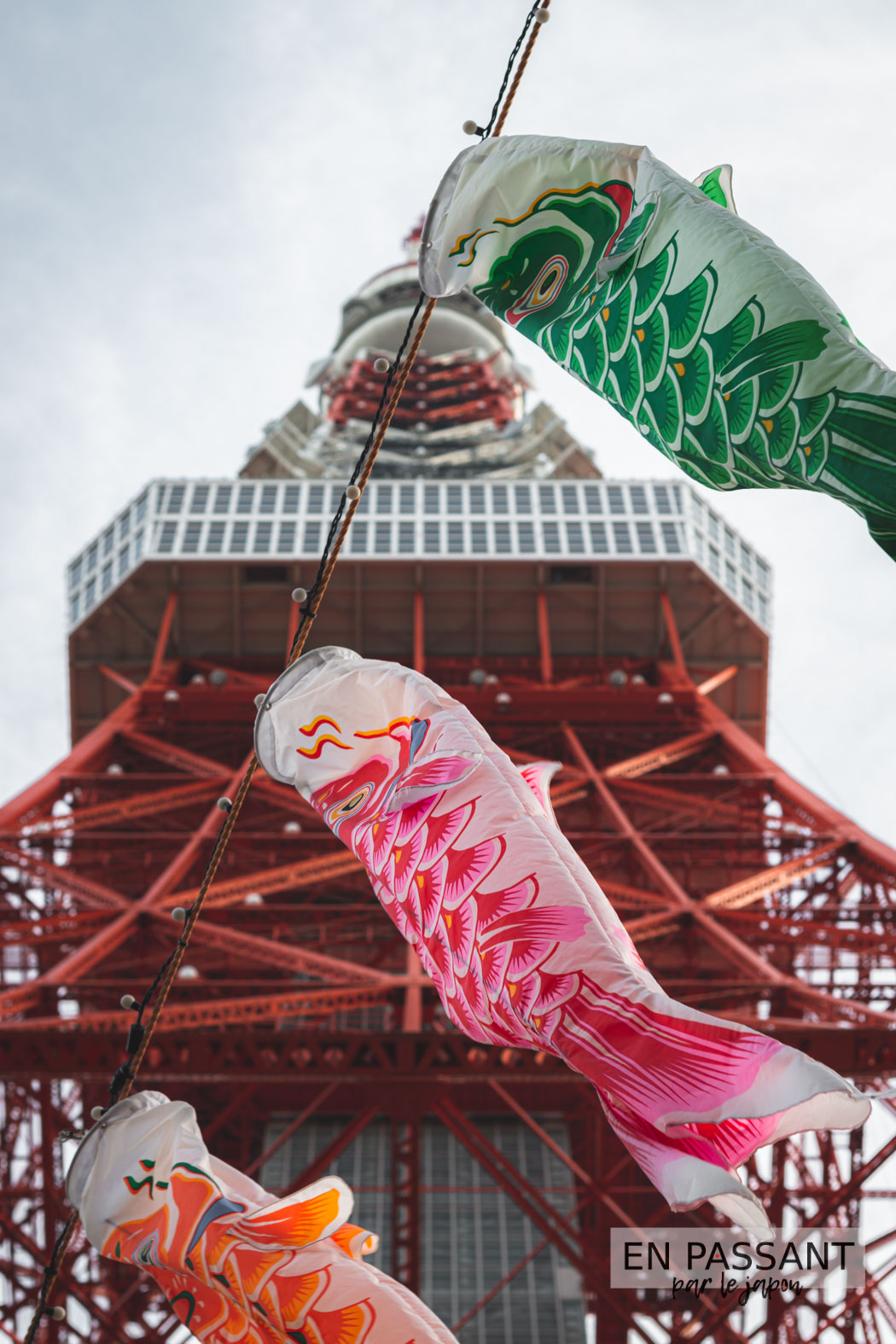 tokyo tower décorations