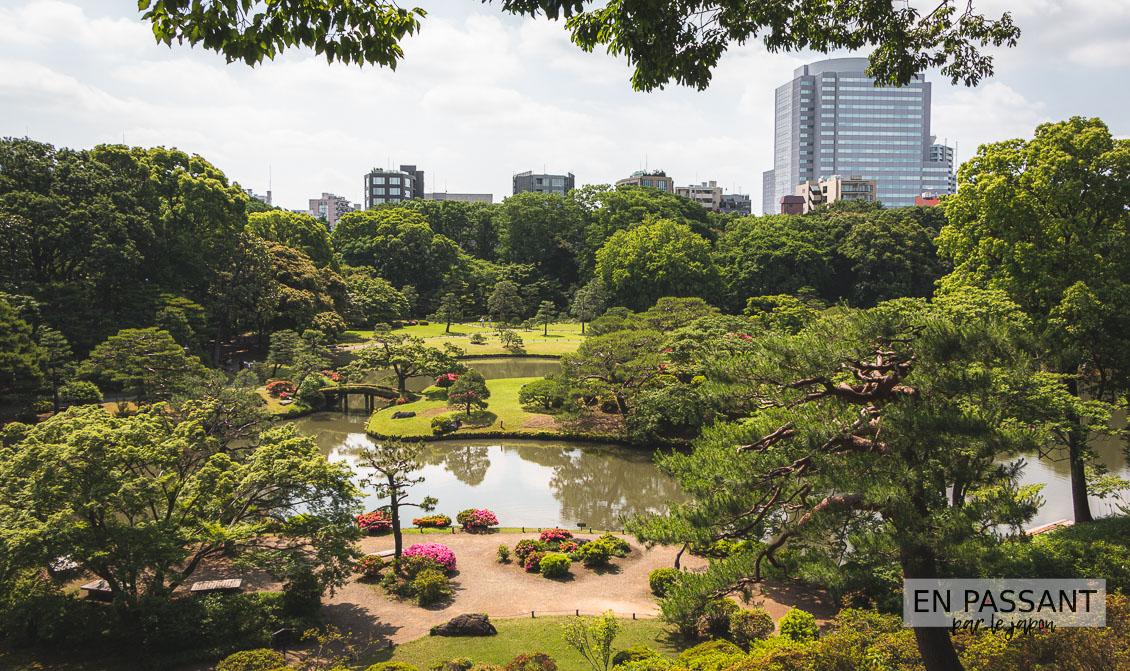 rikugi-en jardin japonais Tokyo